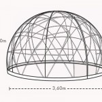 Garden Igloo 360 Geodesic Dome Gives You Comfortable Outdoor Living Space