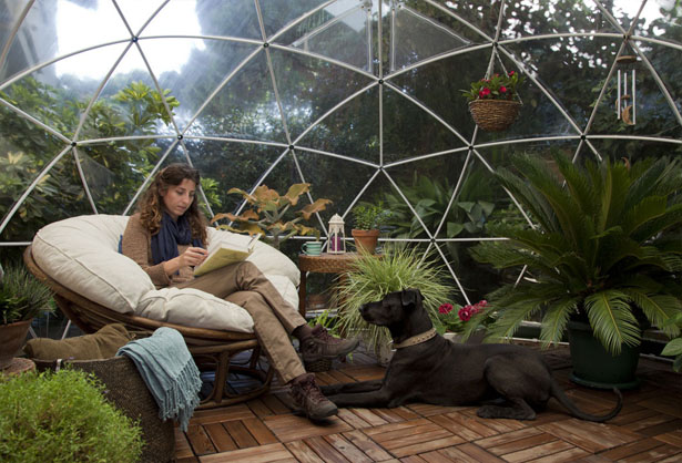 Garden Igloo 360 Geodesic Dome