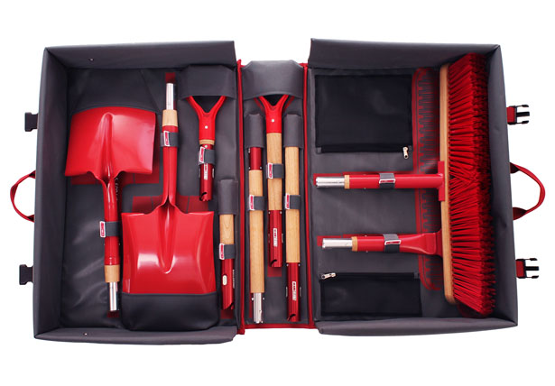 Garden Tool Master Kit with Soft Case by REDHED Tools