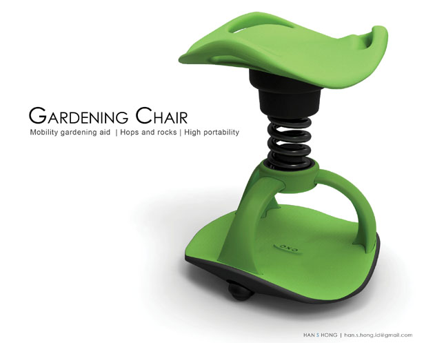 Gardening Chair by Han S. Hong  sc 1 st  Tuvie & Gardening Chair : Mobility Gardening Aid for Boomers by Han S ... islam-shia.org