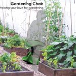 Gardening Chair : Mobility Gardening Aid for Boomers by Han S. Hong