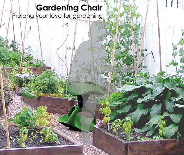 Gardening Chair by Han S. Hong
