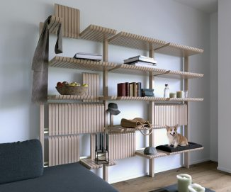 Gate Furniture System Offers Dynamically Transformable Furniture Set