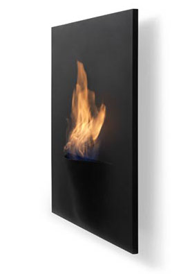 gaya wall mounted fireplace