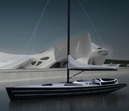 GEA Sailboat 70 Features Transformable Zone To Provide Multifunctional Usability