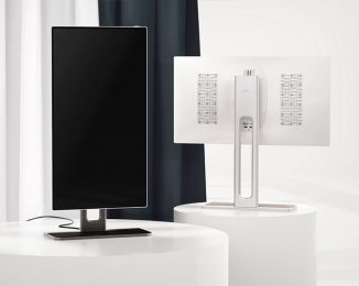 Gemini Rotating Monitor Design with Wireless Charging Stand