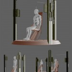 Futuristic 3D Scanner Design for