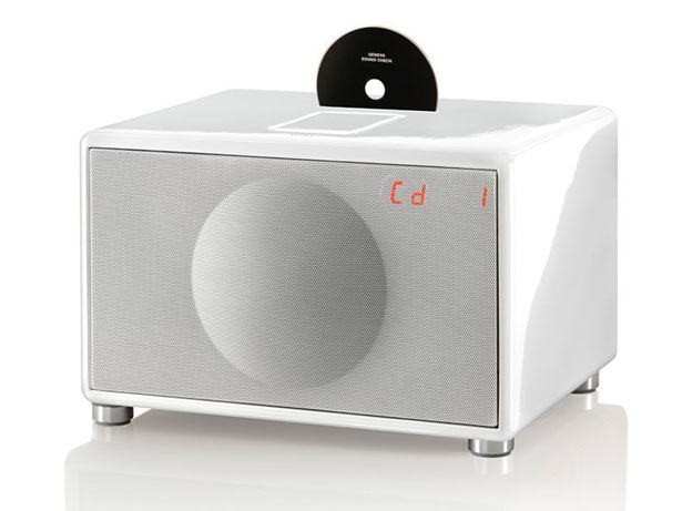 GenevaSound All-in-One Stereo Sound System Amplifies Your iPod to Hi-Fi Status