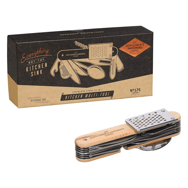 Gentlemen's Hardware 12-in-1 Kitchen Multi-Tool