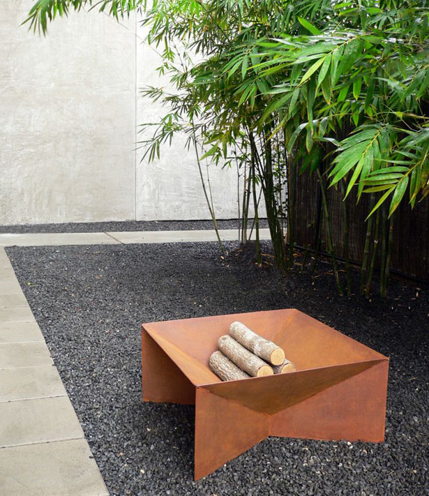 Geometric Firepit by John Paul Plauché