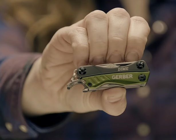 Gerber Gear Dime Multi Tool EDC Fits Your Keychain