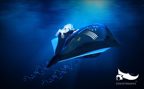 GhostManta Submersible Vehicle
