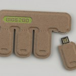GIGS.2.GO USB Sticks : Tear It Off to Share