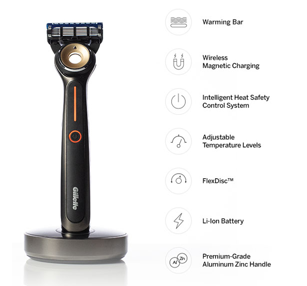 Gillette Heated Razor by GilletteLabs
