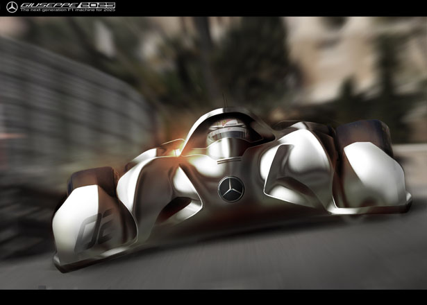 GIUSEPPE  : The Next-Generation F1 Machine Concept For 2025