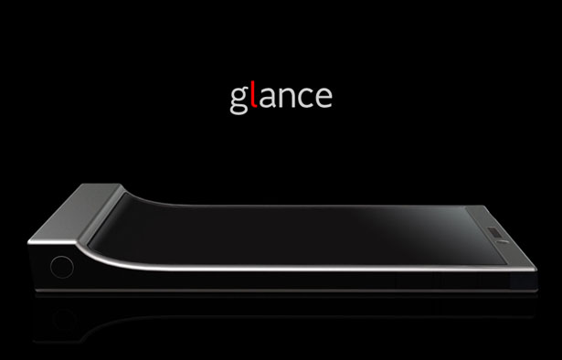 Glance Mobile Phone : Read The Time and Status at A Glance