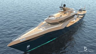 Glauca Superyacht Design Was Inspired by The Blue Shark