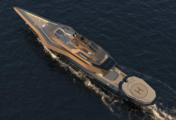 Glauca Superyacht by Bhushan Powar Design
