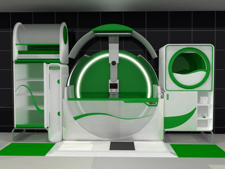 Global Bathrom : All-in-One Bathroom for Universal User