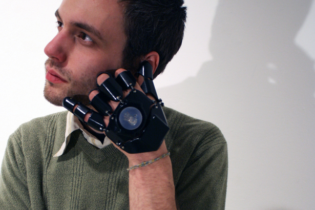 Glove One Wearable Mobile Communication Device by Bryan Cera
