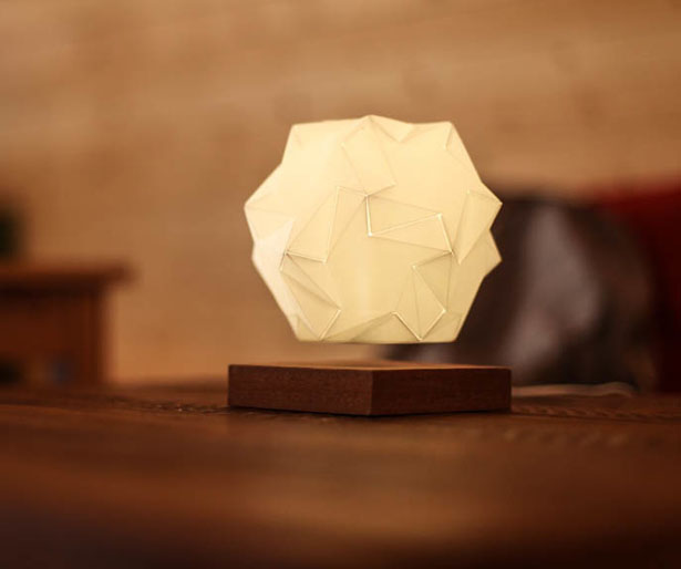 Glow Lamp - Illuminating Crystal That Floats in Mid air by Glow Design