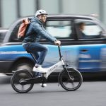 Stylish Gocycle GX Fast-Folding eBike Can Be Wheeled Along During Commuting