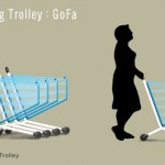 GOFA Shopping Trolley Offers Faster Checkout in Supermarket While Maintaining Traditional Cashier-Staffed Checkout