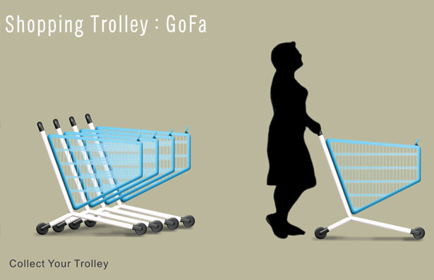 GOFA Shopping Trolley by Abhinav Dapke