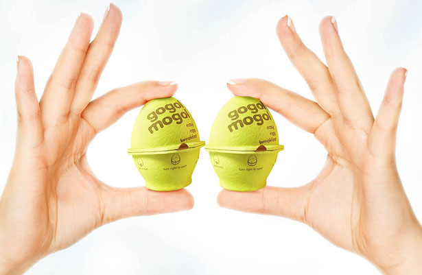 Gogol Mogol Eggs Packaging Design by KIAN