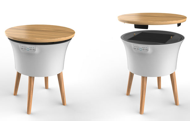 Air Table by Taodesign - Tuvie Top 10 Picks of Golden Pin Design Mark Winners for 2015