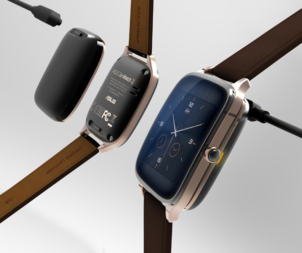 ASUS ZenWatch2 by ASUSTeK Computer Inc. - Tuvie Top 10 Picks of Golden Pin Design Mark Winners for 2015