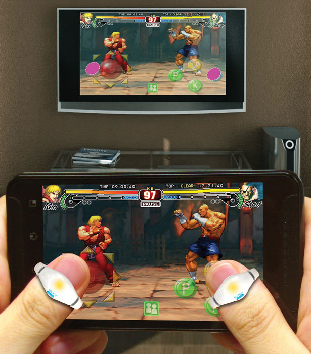 Golmoo Gaming Device to Interact Better Between Multiple Game Screens Smoothly