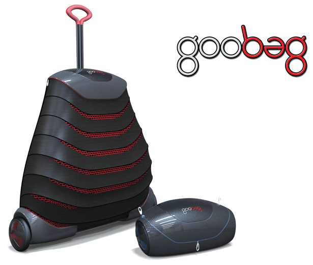 Goobag Fully Collapsible Luggage Bag by Mimos Berhad