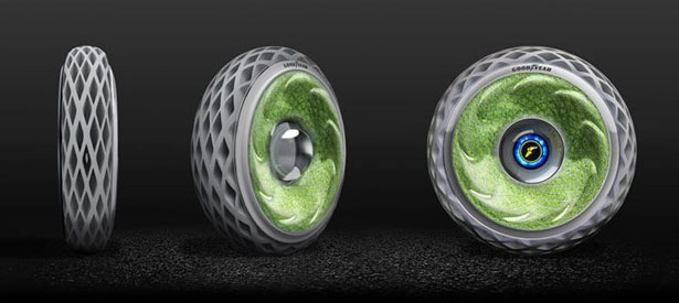 Goodyear's Oxygene Concept Tire to Improve Air Quality