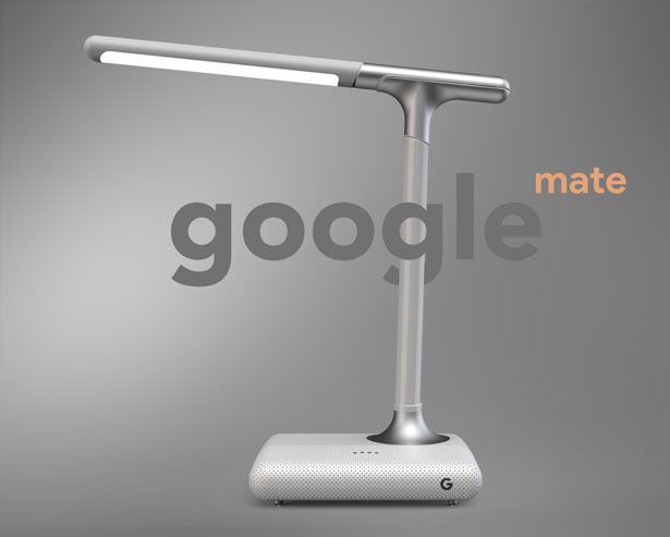 Google Mate Smart Desk Lamp by Subinay Malhotra