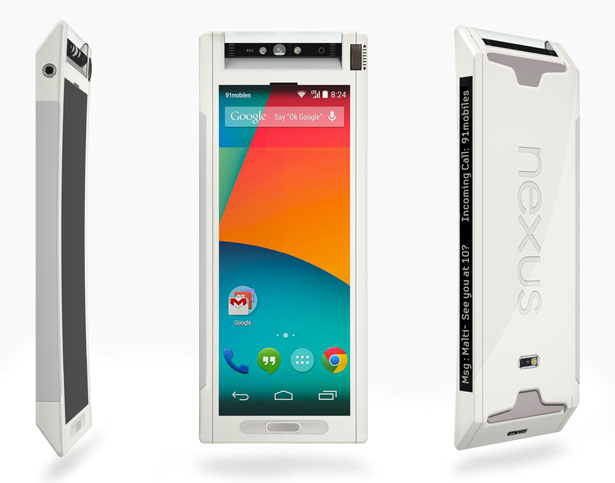 Google Nexus 360 Concept Smartphone Proposal by 91mobiles