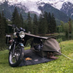 Goose Camping System for Motorcycle for Adventure Lovers