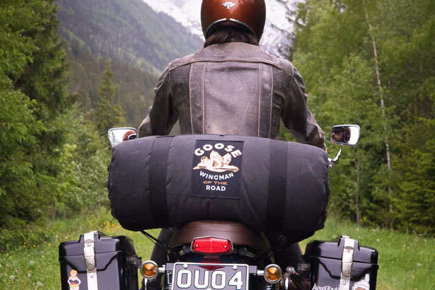 Goose Camping System for Motorcycle by Wingman of The Road