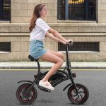 Goplus Folding Mini eBike - Affordable, Pedal Free Electric Bike For An Everyday Bike