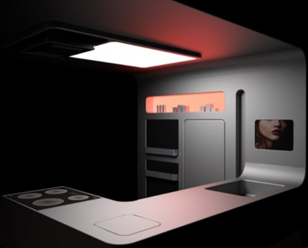 Gorenje Futuristic Kitchen by Ora Ito - Tuvie