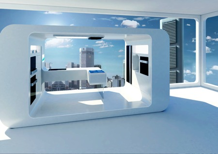 gorenje futuristic kitchen