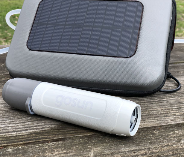 GoSun Flow: World's First Portable Solar-Powered Water Filter and Purifier