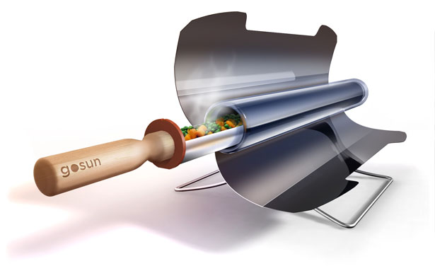 GoSun Stove Portable Solar Cooker by Patrick Sherwin, Matt Gillespie, and Adam Moser