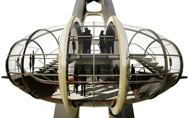 GOW Nippon Moon Observation Wheel by UnStudio