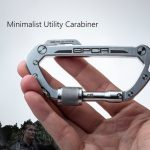 GPCA Minimalist Utility Carabiner Offers Essential Gears for Adventurists