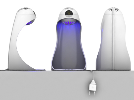 Gradient : Portable Electric Device to Keep Your Beverages Warm or Cold