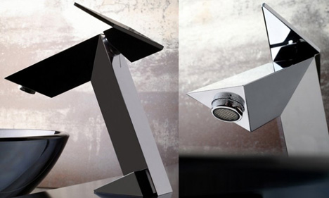 GRAFF\'s Stealth Bathroom Faucet Was Inspired By An Aircraft - Tuvie