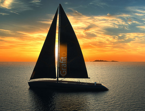 Grafito Sailing Yacht by Igor Jankovic