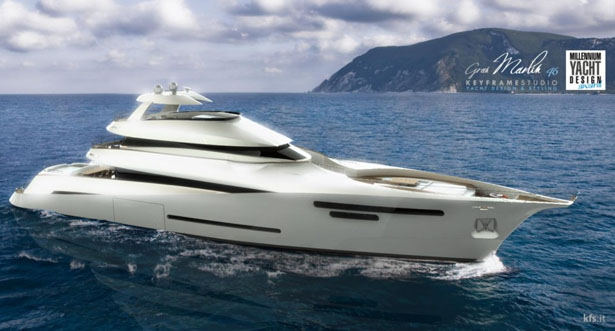 Gran Marlin 46 Yacht by KeyframeStudio