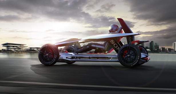 Gran Turismo E-motion Concept Racing Car Gets Your Heart Racing and Adrenaline Pumping